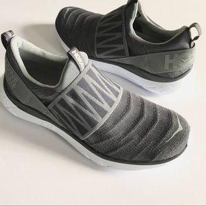 Hoka One One Hupana Slip on gray shoe sneaker 8